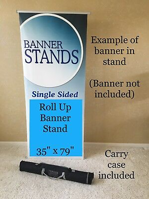 NEW - L Banner Stand With Carry Bag - FREE SHIPPING