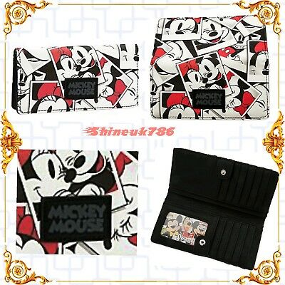 Disney official Micky - Minnie Mouse purse wallet for girls/ Ladies BNWT