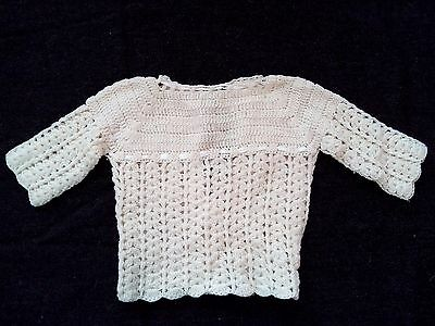 Vintage baby Sweater- hand made
