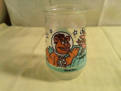Welchs Jelly Glass Jim Henson  Muppets in Space Fozzie Bear number 3 in Series