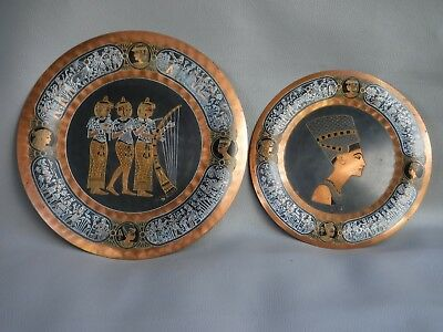 Egypt Copper Display Plates
