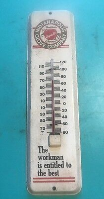 "Advertising Thermometer - ""Indianapolis Apple Us Gloves"