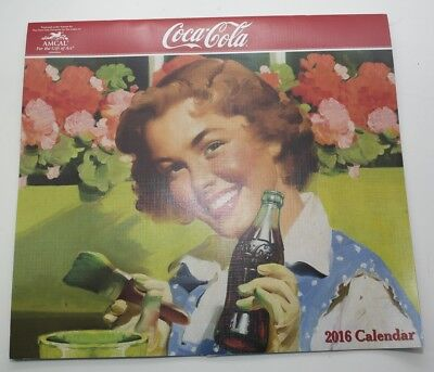 2016 Coca-Cola Coke Wall Calendar Great Pictures Classic Coke Girls