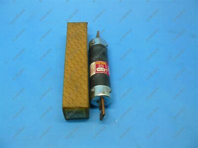 Bussmann FRS-R-125 Time-delay Fuse Class RK5 125 Amps 600 VAC/300 VDC New