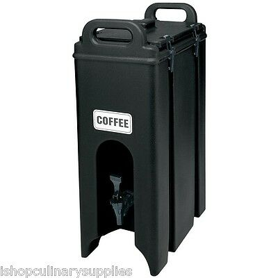 Beverage Dispenser, Insulated, Cambro Model 500LCD110 - Black