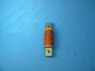 Shawmut AJT110 Time Delay Fuse Class J 110 Amps 600VAC/500VDC New