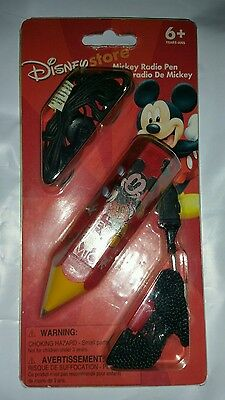 Disneys Mickey Mouse Red Radio Pen
