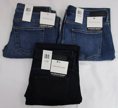 Calvin Klein Women's Ultimate Skinny Stretch 5-Pocket Jeans (Variety) *NWT*