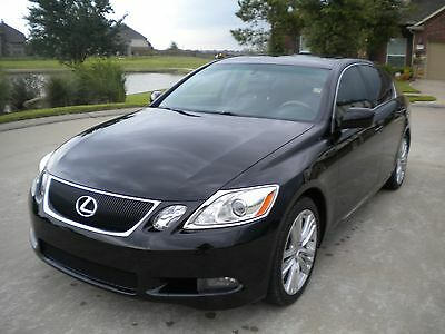 2007 Lexus GS Sedan 4dr Hybrid GS450h 2007 LEXUS GS 450H  4DR HYBRID 80k Fully Loaded GS450H NO RESERVE
