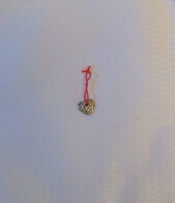 American Girl JOSEFINA Nighttime Necessities HEART SHAPED MILAGRO CHARM ONLY