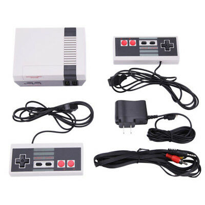 Mini Vintage Retro Console Classic 500 Built-in Games w/2 Controllers X-mas Gift