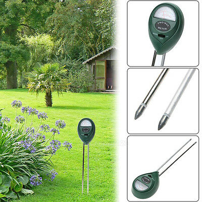 3 in1 PH Tester Soil Water Moisture Light Test Meter Garden Plant Flower Kit