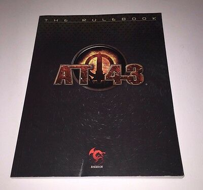 AT-43 The Rulebook Rackham Sci Fi Miniatures OOP