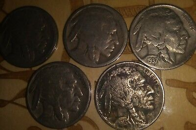 5 cents indian coin lot of 5