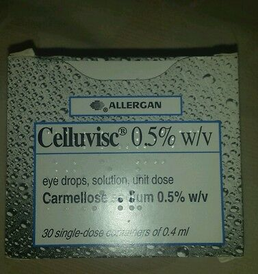 Celluvisc 0_5 drops 0_4ml never used