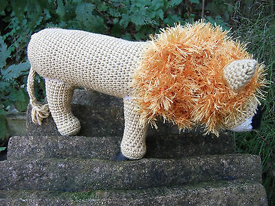 Hand-crocheted Lion  – Soft Toy – Ref 1304