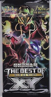 Booster Pokemon - The Best Of Des Xy -  Version Coreenne  - 10 Cartes -