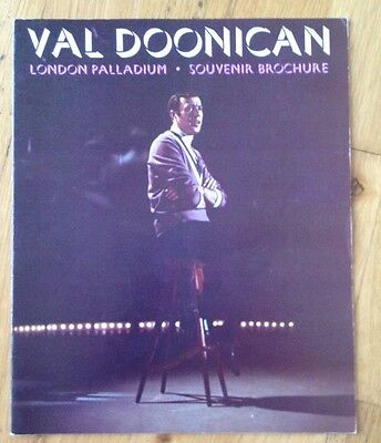 VAL DOONICAN programme LONDON PALLADIUM