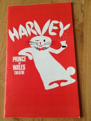JAMES STEWART in HARVEY 1975 programme PRINCE of WALES THEATRE