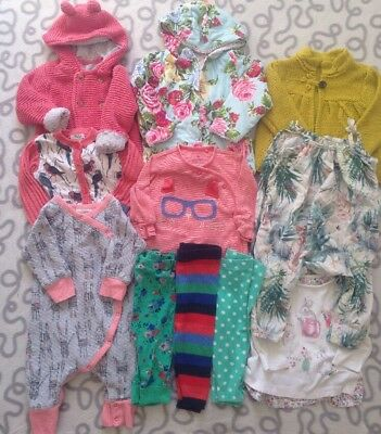 Baby Girls Clothes Bundle 3-6 Months Next