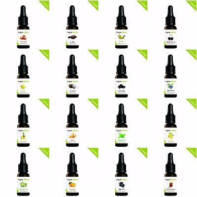Flavor Drops Concentrate from Vapenatura 10ml - Different Organic Flavored Drops