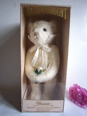 "Merrythought Princess Diana Bear 15"" Ltd. Mint."