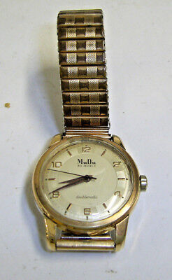 Mudu Auto Wind Wristwatch - Working