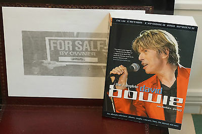 Rare David Bowie The COMPLETE David Bowie Nicholas Pegg in MINT Original order