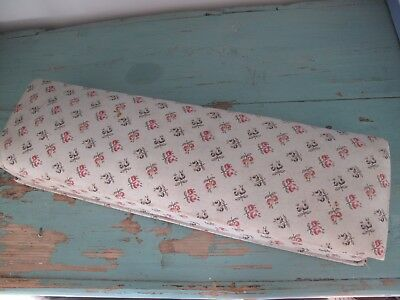 Vintage French floral fabric covered box