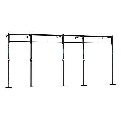 6x Estaciones Plataforma Superficie Ampliacion Pared Halterofilia Pull up Squat