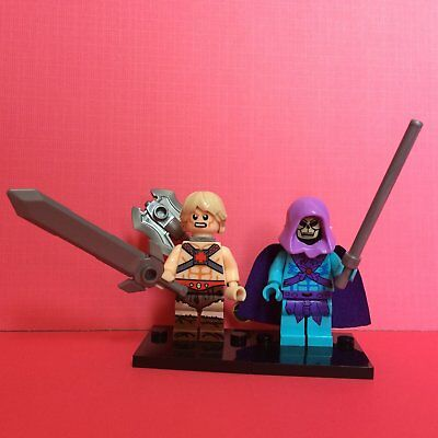 2X Masters of the Universe Skeletor He-Man Mini Figure Toy
