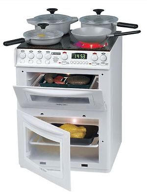 Casdon Hotpoint Electronic Cooker + Accessories Kids Play Toys New