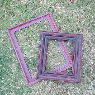 Two Antique Pressed Timber Frames, To Restore, Pick Up EAST BRISBANE
