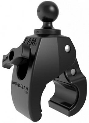 Ram Mount Base Tough Claw Clamp For Round Square Or Odd Shaped Rails - Medium