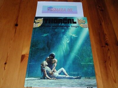 *New Polish Book* Thorgal, tom 12 - Miasto zaginionego boga *komiks*