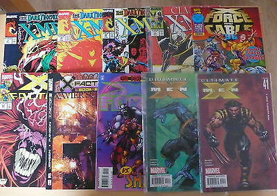 20 Marvel Comics X Force X Factor X Men  as pictured Free UK P&P