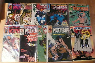 20 Marvel Comics Presents Wolverine Weapon X etc as pictured Free UK P&P