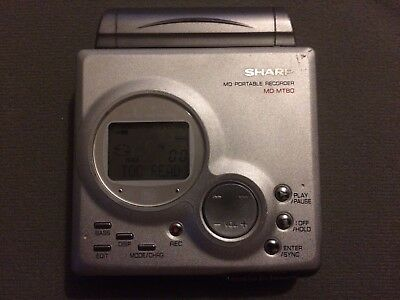 Sharp MD-MT80 Personal MiniDisc Player / Recorder