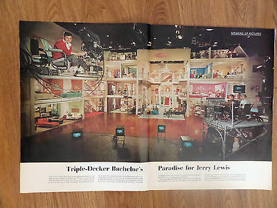 1961 Photo Article Ad Jerry Lewis Bachelor's Paradise