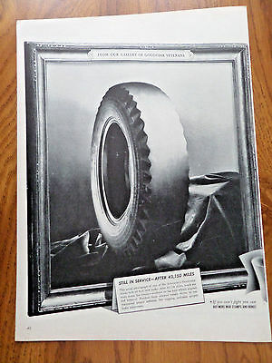 1943 Goodyear Tire Ad From Our Gallery of Veterans