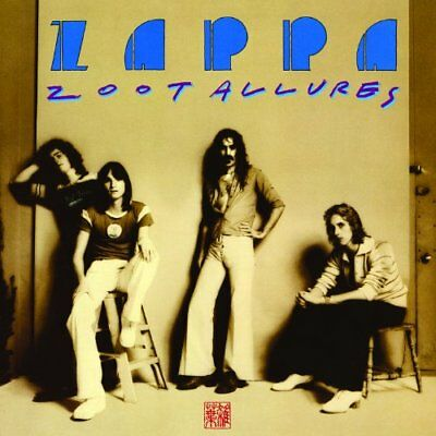 FRANK ZAPPA ZOOT ALLURES PRESALE NEW 180g VINYL LP REISSUE OUT 20th OCTOBER