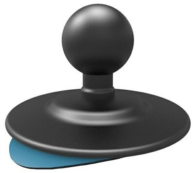 "Ram Mount Adhesive Mount 2.5"" Base With 1"" Ball For Camera Phone Sat Nav"
