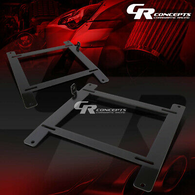 Left+Right Tensile Racing Bucket Seat Low Mount Bracket For 13+Frs/Brz Ft86 86