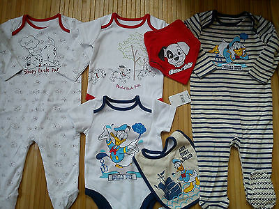 New Bundle Outfits Summer Winter Mickey Tiger Baby Boy 9/12 Mths(3.7)Nra31