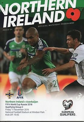 16/17 Northern Ireland v Azeraijan  (World Cup Qualifer)