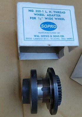 "Sopko thread wheel adaptor no. 200 LH thread for 1/2"" wheel left"