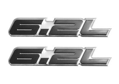 62 liter 383 engine aluminum emblems badge in silver black 45 2010 2014 ford f 150 raptor black silver 62l fender engine trunk publicscrutiny Image collections