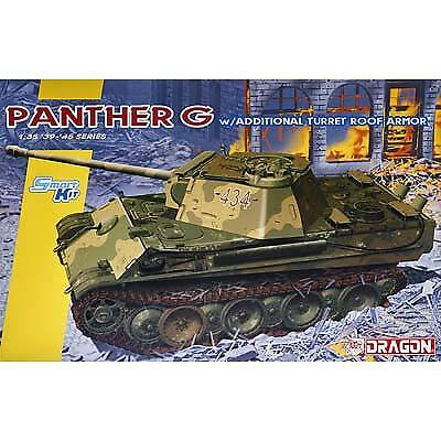 NEW Dragon Models 1/35 Panther Ausf.G Late Production 6897