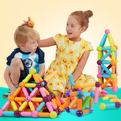 1 Set Magnetic Building Block Toys Magnets For Babys Child Mixed Colors