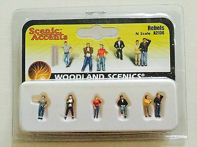 Woodland Scenics Accents 1/160 N Scale Rebels Item # A2136 Factory Sealed